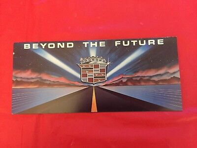 "k. 1980 Cadillac ""Beyond The Future"" Car Dealer Sales Brochure"