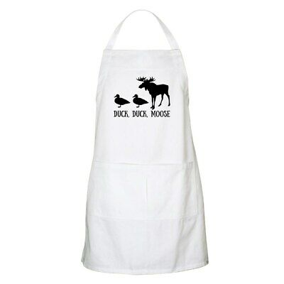 CafePress - Duck,Duck, Moose - Full Length Cooking Apron