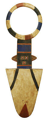 6ft Nafana Bedu Plank Mask - Ivory Coast African Tribal Art