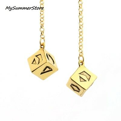 Solo A Star Wars Story Han Solo Dice Sabacc Lucky Dice ANTIQUE GOLD Prop 12mm