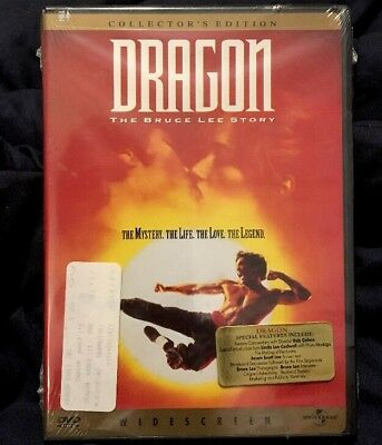 Dragon: The Bruce Lee Story (DVD, 1998, Collectors Edition) Rare Oop Jason Scott