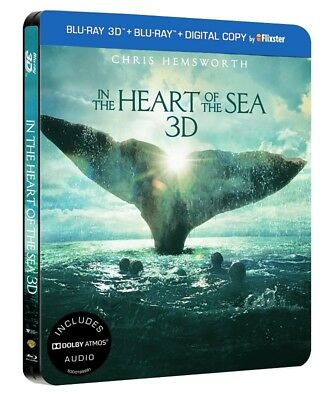 In the Heart of the Sea Steelbook (Blu-ray 3D + Blu-ray) Dolby Atmos multi audio