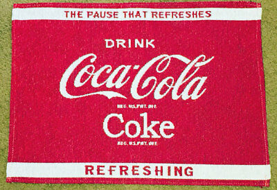 Coca-Cola ~ Coke Red & White Single Tapestry Placemat