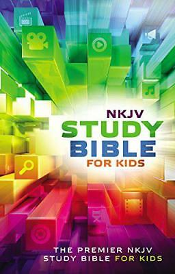 NKJV Study Bible for Kids by Thomas Nelson | Hardcover Book | 9780718032456 | NE