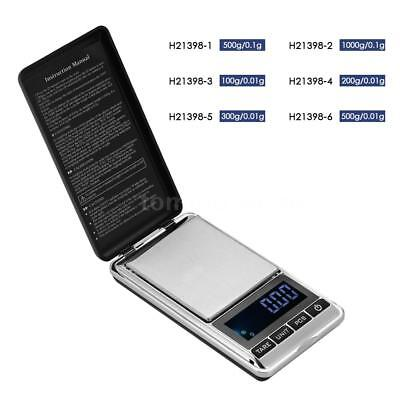 Mini Electronic Digital Scale Weight Balance LCD Jewelry Pocket Scale Home Z2Q0