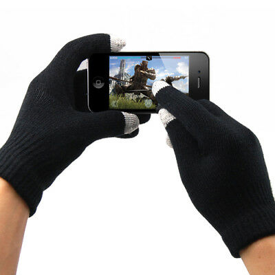 Mens Women Thermal Insulation Touch Screen Smartphone Device Winter Warm Gloves