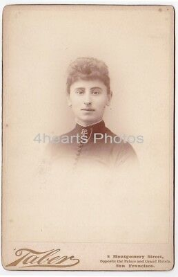 G18-1163 likely Carrie Garsey - Ukiah, CA -1890 Mills College - partly id'd