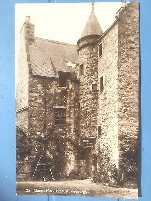Jedburgh – Queen Mary's House  USED  1932 & Stamped  VERY CLEAN