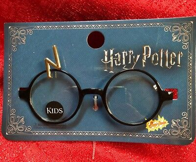 HARRY POTTER GLASSES Metal Costume Round Wizard Child Kids LICENSED
