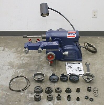 Ammco 7000 Hustler Rotor & Disc Brake Lathe w/ Complete Adapter Kit