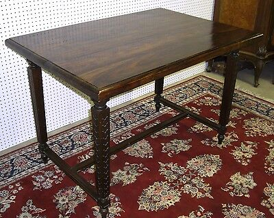 "Beautiful Antique Style Country French Louis XIV Table Solid Hardwood  48""x 34"""