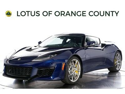 "Evora 400 ""NEW FROM FACTORY"" 2017 Lotus Evora 400 - NEW FROM FACTORY, MANUAL, ONLY NIGHTFALL BLUE PRODUCED"