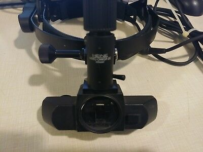 Heine Video Omega 2C Indirect Opthalmoscope Binocular Teaching Telemedicine Eye