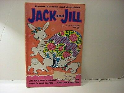 Vintage JACK and JILL Magazine-EASTER 1962 RABBITS