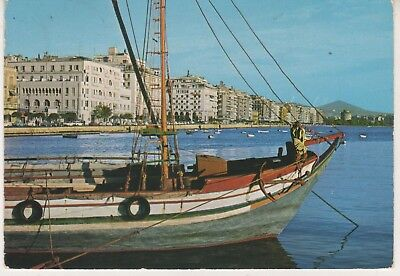 Thessaloniki. 1977 postcard in fair condition. Written and posted