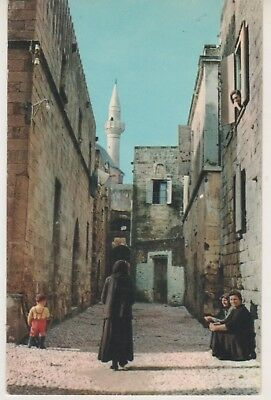Rhodes. The Old City. 1964 postcard in GC. Written & posted