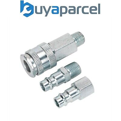 Sealey Air Tool Coupling Kit 1/4 Inch BSP HIGH FLOW ACH60