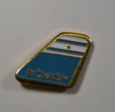 EL AL Airlines - Flugzeug - PIN Badge ca. 3 x 2 cm  (AN3038)