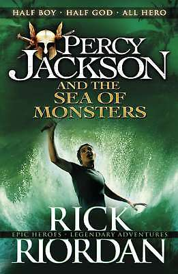 Percy Jackson and the Sea of Monsters (Book 2) by Riordan, Rick