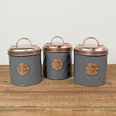 Typhoon Tea Coffee Sugar Canister Jars