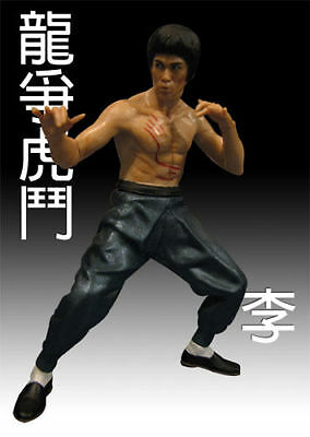 Bruce Lee 3D HEROES Capsule Kung Fu Masters of Legend Figure Enter the Dragon