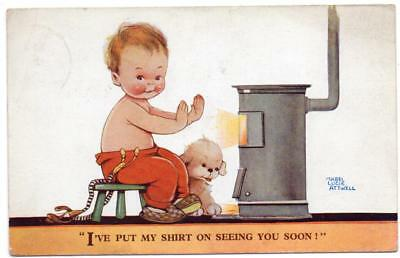 1932 MABEL LUCIE ATTWELL I'll Put my Shirt on Seeing you  No 2134 Postcard