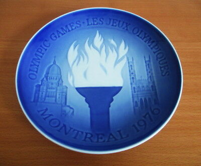 Bing & Grondahl Collector Plate 1976 Montreal Olympic Games Les Jeux Denmark