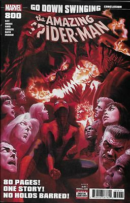 The Amazing Spider-man #800 Alex Ross Go down Swinging Marvel Comic 1st Print NM