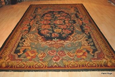 100 Wool Black And Gold Handmade Kilim Hand Woven Oriental Wool Rug