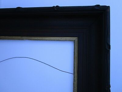 Antique 19Th Century Ornate Carved Frame For Painting Ornate Photo Vintage Print