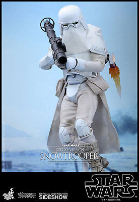 1/6 Star Wars Snowtrooper Deluxe Videogame Masterpiece Hot Toys 902893