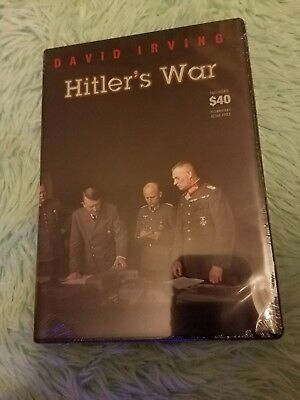 New Ww2 Hitler's War David Irving Dvd