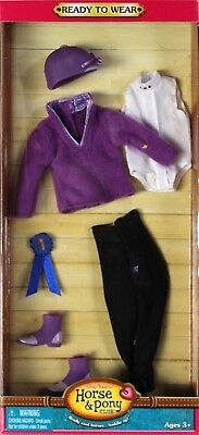 NEW Only Hearts Club Ready to Wear Purple English Riding Outfit 3205