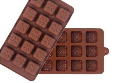 AUS SELLER -  PRESENT/GIFT CHOCOLATE/SOAP SILICONE MOULD  makes 12 new