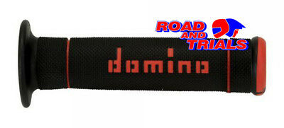 New Domino Dual Compound Trials Grips In Red & Black