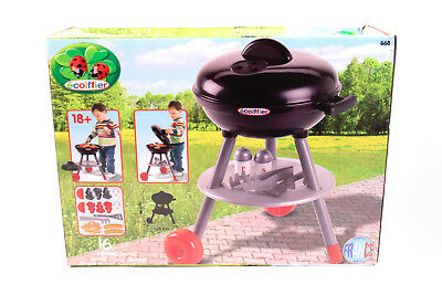 toller ECOIFFIER Barbecue Gartengrill 16 Teile Kinder Spielzeuggrill Grill 668