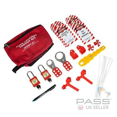 Fuse Lockout Tagout Kit - Padlocks, Hasps and More