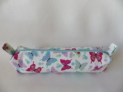 Hand Crafted Large First Period Sanitary Maxi Pad Bag Zipped & Lined: CANDY (B)