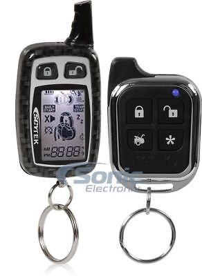 ScyTek A777 Complete 2-Way Security System & Keyless Entry w/ LCD Remote Control
