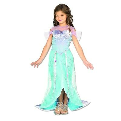 Dlx. Mermaid S - Costume Girl Dres Rubie Fancy Deluxe Princes Small Official