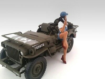 American Diorama 23860 Figur Mechanikerin Lady Mechanic - Jessie 1:18 limitiert