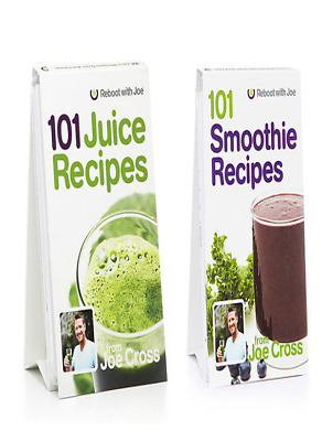 COMBO 101 Juice Recipes and 101 Smoothie Recipes Reboot by Joe Cross