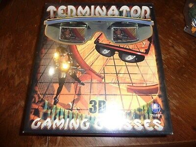 Terminator 3D Gaming Glasses Stereoscopic Viewing System DirectX Game PC? BNIB