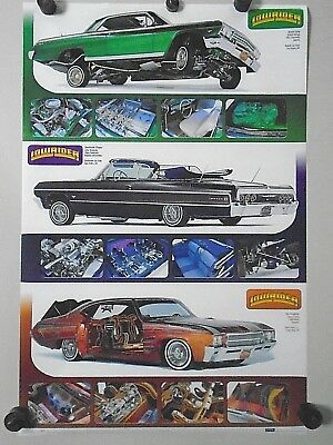 """LOW RIDER / Original poster / #2562 / Sweet Ride / Exc. New cond.- 22 x 34"""""""