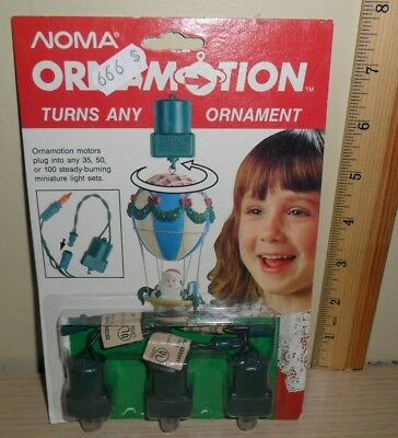 New Old Stock ~ Noma Ornamotion 3 Pack ~ Rotating Ornament Hooks