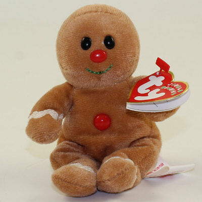 40115d6f350 TY Jingle Beanie Baby - SWEETER the Gingerbread Man (Walgreens Exclusive)   NM