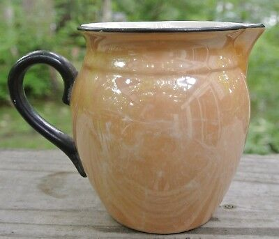 Vintage Luster Ware Creamer Pitcher  Made in Czechoslovakia