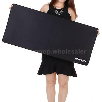 XL Large Plain Extended Waterproof Anti-slip Rubber Gaming Mouse Mice Pad Mat