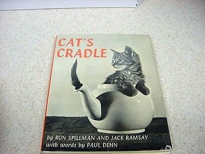 1959 CAT'S CRADLE-Adorable Funny Kitten Photos-Spillman