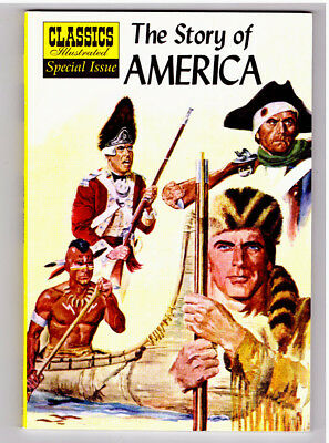 Classics Illustrated Special Issue THE STORY OF AMERICA in NEAR MINT comic